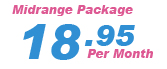 Our $18.95 Web Hosting Package